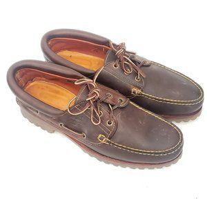 🌲 Timberland Heavy Duty Boat Shoes Size 7.5 M 🌲